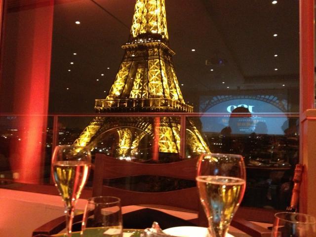 Agréable Restaurant Avec Vue Sur La Tour Eiffel #12: Ph. Audrey Mangin
